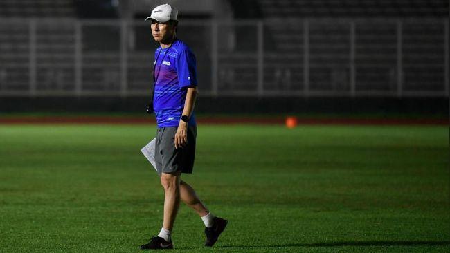 Pelatih Timnas Indonesia U-19 Shin Tae Yong memuji penampilan Mahessa bersaudara usai mengalahkan Hajduk Split 4-0, Selasa (20/10) sore WIB.