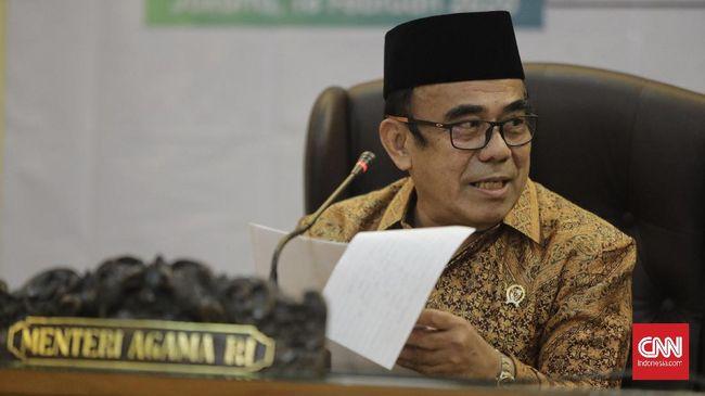 Menteri Agama (Menag) Fachrul Razi saat memberikan keterangan pada wartawan terkait kinerja Kementerian Agama. Jakarta, 18 Februari 2020.