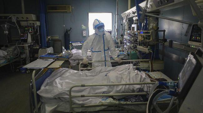 Korban meninggal akibat terinfeksi virus corona terus melonjak hingga angkanya mencapai 2.120 orang di seluruh dunia, Kamis (20/2).