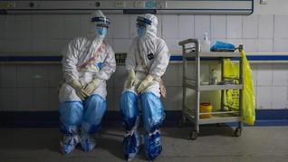 6 Pasien Corona Sembuh, Perawat China Menari Balet