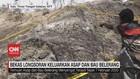VIDEO: Longsor di NTT Keluarkan Asap dan Bau Belerang