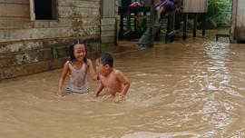 Banjir Kembali Landa Ibu Kota Baru, 379 Jiwa Terdampak