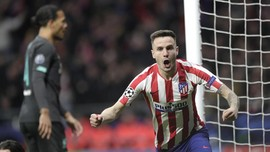 Liga Champions: Atletico Unggul Atas Liverpool di Babak I