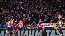 Hasil Liga Champions: Atletico Kalahkan Liverpool