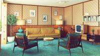<p>Sofa antik bisa digunakan untuk mengisi ruang keluarga atau ruang tamu. (Foto: iStock)</p>