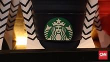 Saham Pengelola Starbucks Babak Belur Dihajar Insiden Asusila