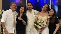 <p>Sheila Marcia dan Dimas Akira melangsungkan pernikahan di Bali.(Foto: Instagram @bang_hank_key) </p>