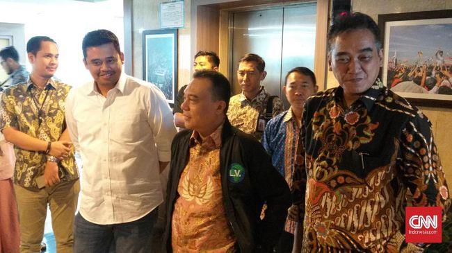 Menantu Jokowi, Bobby Nasution, berharap Partai Gerindra mengeluarkan dukungan untuk dirinya di Pilkada Medan 2020.