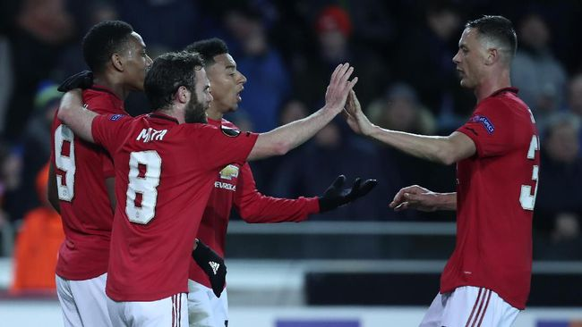 Manchester United dapat lawan ringan sedangkan Inter Milan ditantang Gefafe di babak 16 besar Liga Europa.