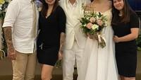 <p>Selamat menjalani hidup baru, Sheila Marcia dan Dimas Akira. Semoga langgeng... (Foto: Instagram @bang_hank_key)</p>