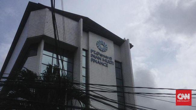 Gedung PT PANN, yang juga merupakan kantor Lembaga Manajemen Aset Negara dan anak perusahaan PT PANN Pembiayaan Maritim, di Cikini, Menteng, Jakarta Pusat (20/2).