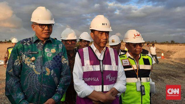 Presiden Jokowi menargetkan Tol Sigli-Banda Aceh Seksi IV dapat beroperasi pada Lebaran 2020.