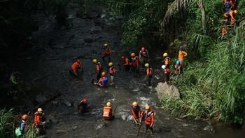 9 Siswa MTs di Ciamis Tewas Tenggelam Saat Susur Sungai