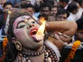 FOTO: Memuja Dewa Siwa dalam Festival Maha Shivaratri