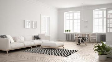 Tips Menata Ruang Tamu Rumah Minimalis Berdinding Putih Agar Tetap Hangat