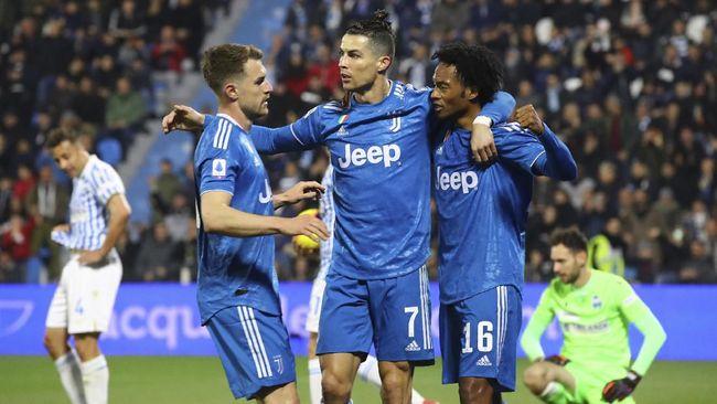 Para pemain pemain muda Juventus untuk sementara dilarang berlatih dengan Cristiano Ronaldo dkk untuk pencegahan wabah virus Corona.
