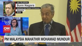VIDEO: PM Malaysia Mahathir Mohamad Mundur