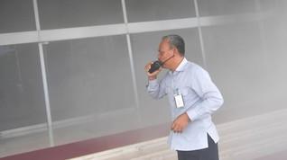 Gedung DPR Kebakaran, Sumber Api dari Lift Nusantara I
