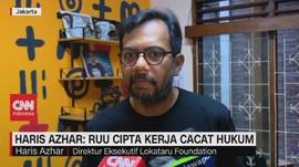 VIDEO - Haris Azhar: RUU Cipta Kerja Cacat Hukum