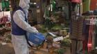 VIDEO: Cegah Corona, Pasar Populer di Seoul Didesinfeksi