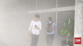 Gedung DPR Terbakar, Petugas Tambah Mobil Pemadam