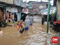 Banjir di Tebet dan Pancoran, 115 Warga Mengungsi