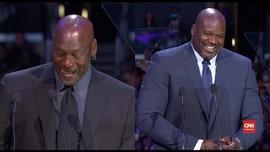 VIDEO: Jordan dan Shaq Bercanda Kenang Kobe Bryant