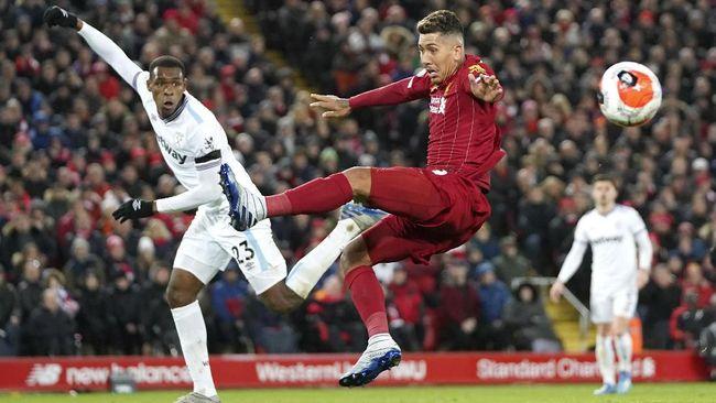 Liverpool terancam menjadi korban keempat secara beruntun yang gagal menang di tangan West Ham United saat kedua tim bertemu di Anfield.