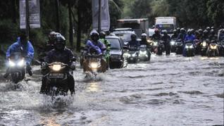 22 RT Tergenang Banjir Jakarta, Mayoritas Pengungsi di Jakbar