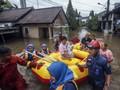 9 Kecamatan di Kabupaten Bekasi Masih Terendam Banjir