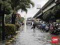 Hujan Deras, Sejumlah Jalan di Kelapa Gading Terendam Banjir