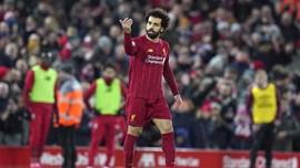 Terlibat dalam 100 Gol, Salah Cetak Rekor di Liga Inggris