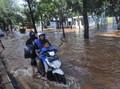 40 Ruas Jalan dan Underpass Terendam Banjir Jakarta Hari Ini