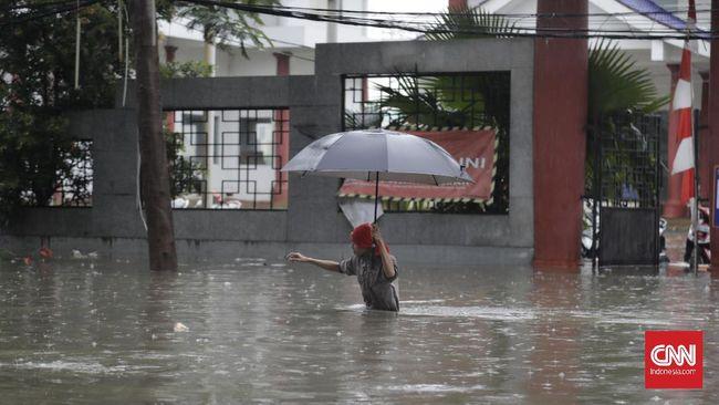 Ganjil genap ditiadakan hingga sore hari imbas banjir di Jakarta di sejumlah titik.