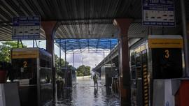 Banjir, Ruas Tol Bekasi Barat 2 dan Cikunir Ditutup Sementara