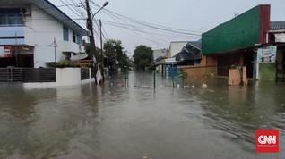 Sejumlah Perumahan di Bekasi Terendam Banjir 1,5 Meter