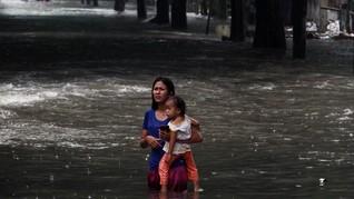 Selasa Pagi, Banjir Landa Sejumlah Wilayah Jaktim dan Jaksel