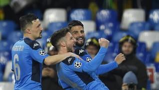 Napoli Ancam Reputasi Barcelona di Liga Champions