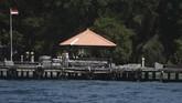 Melihat dari dekat Pulau Sebaru Kecil yang menjadi tempat karantina dan observasi risiko virus corona 188 ABK WNI yang dievakuasi dari kapal pesiar World Dream.