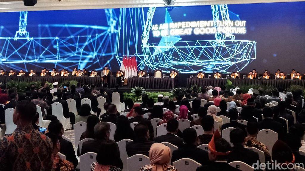 Jokowi Hadiri Sidang Laporan Tahunan Mahkamah Agung
