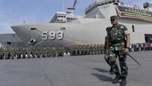 KSAL Pantau Langsung Pencarian Kapal Selam KRI Nanggala