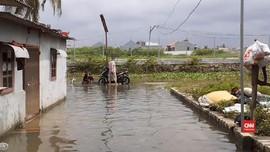 VIDEO: Menengok Banjir di Permukiman Warga di Seberang JGC