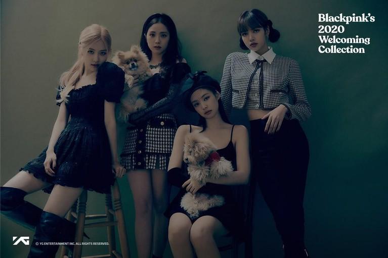BLACKPINK baru saja merilis album foto bertajuk 2020 Welcoming Collection pada Rabu (26/2).