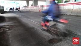 6.934 Titik Jalan di Jakarta Rusak karena Banjir dan Usia