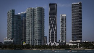 FOTO: Menara Zaha Hadid, Ikon Baru Kota Miami