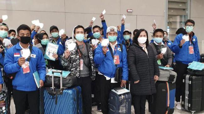 Setditjen P2P Kemenkes mengaku mendapaka laporan ribuan WNI di Seoul, Korsel, kesulitan mendapakan masker untuk mengantisipasi risiko terinfeksi covid-19.