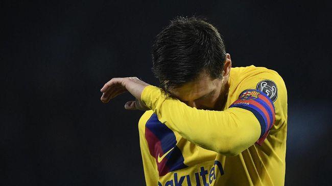 Barcelona makin sulit menemukan solusi saat Napoli berhasil membuat Lionel Messi 'mati suri' di laga Liga Champions.