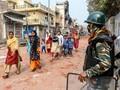FOTO: Pasca Bentrok Umat Hindu-Muslim di India