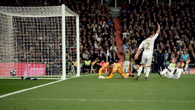 Vinicius Jr. menyebut Real Madrid dirugikan wasit pada laga lawan Manchester City di leg pertama babak 16 besar Liga Champions.