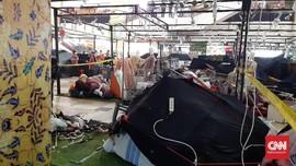 Lapak Pakaian di Thamrin City Terbakar, Tak Ada Korban